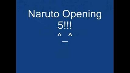 Naruto Opening 5