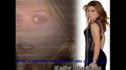 Kelly Clarkson - Because Of You (tekst)