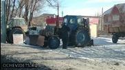 Подгряване На Трактора По Руски