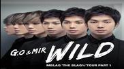 Бг Превод!!!!!!!! Mblaq - Wild ( G.o and Mir)