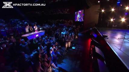 Разтопи женските сърца! X-factor Австралия 2013