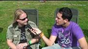 Ensiferum Interview With Pete Lindroos @ Ankkarock 2009