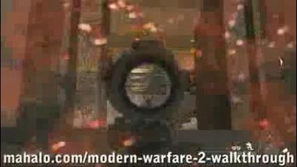 Call of Duty:modern Warfare 2 walkthrough 10