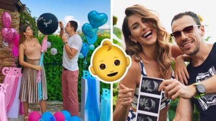 Алекс и Дани Петканови обявиха пола на бебето по мега сладък начин!
