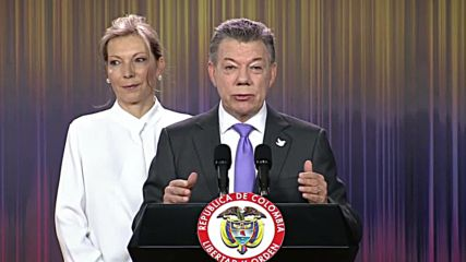 Colombia: President Santos dedicates Nobel Peace Prize to all Colombians