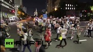 "Japan: ""Smash Fascism! Abe out!"" Tokyo marches against PM Abe's war bill"