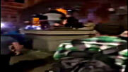 Видео от погрома на сградата на бившия Партиен дом