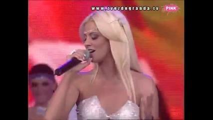 Milica Todorovic - Sa bilo kim - Zvezde Granda - (TV Pink 2011)