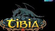 Отварянето на секретната врата в играта TIBIA