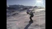 Скоростно Спускане В Австрийските Алпи