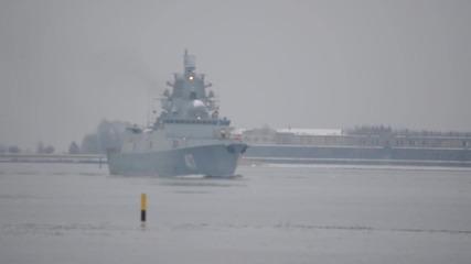 Руска фрегата проект 22350 Адмирал Горшков