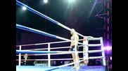 """Dimitar Kamenov vs. Flavio Pekokari 29.04.2011 Sofia Bulgaria Hall """"festivalna"""" Mma"""