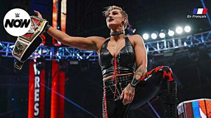 Les Résultats de WrestleMania 37 Nuit 2 – WWE Now en Français