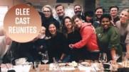 It's a Glee reunion, minus Lea Michele