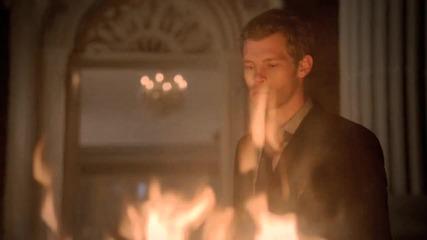 The Vampire Diaries 03x09 - Homecoming - Damon attacks Klaus, Klaus kill Michael