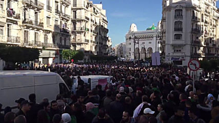 Algeria: Thousands join anti-election protests on eve of presidential vote