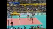 Volleyball (bulgaria - Serbia 3 - 1)