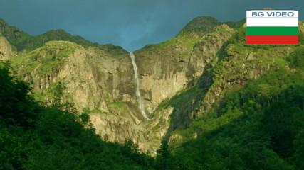 Видимското пръскало - един водопад в два сезона