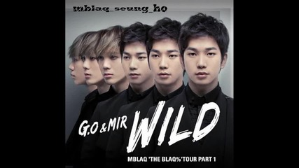 Mblaq - G.o and Mir - Wild