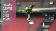 Епичното състезание с дронове на стадион в Амстердам