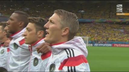 Световно първенство по футбол 2014 Бразилия - Германия - Първо полувреме Част 1/5
