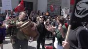 UK: Scuffles break out at anti-Brexit rally in Southampton