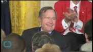 George HW Bush Expected to Make Full Recovery After Neck Bone Fracture