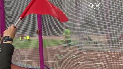 Robert Harting (ger) Wins Discus Gold - London 2012 Olympics