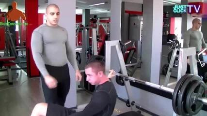 Супер Сериите С01, Еп01 Тренировка за гърди с Цецо От Gofit.bg