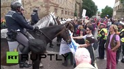 Germany: LGBTQI activists and conservatives clash in Stuttgart