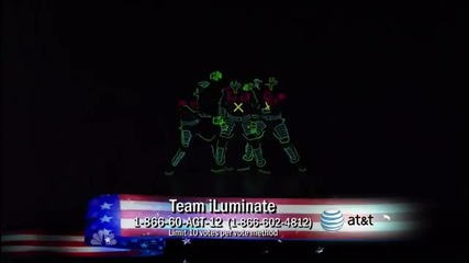 Team iluminate - Талантите на тъмно 2