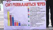 Ukraine: Anti-LGBT activists rally outside Verkhovna Rada