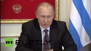 Russia: Moscow wants to cooperate with a united Europe - Putin