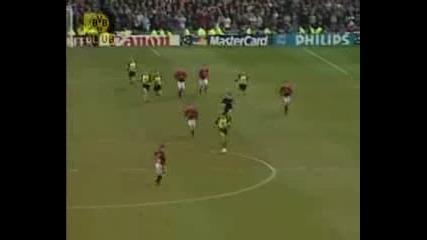 Cl Saison 9697 Halbfinale 23.04.97 Manu - Borussia Dortmund = 0 1