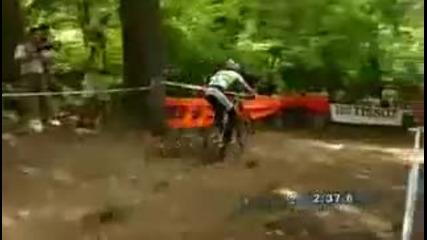 Sam Hill Downhill World Cup 2008