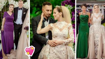 Не сватба, а приказка! Илиана Раева и Наско Сираков омъжиха дъщеря си