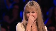 Талант с пръдня 100% смях (britain's Got Talent )