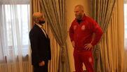 Харитонов и Яндиев се сдобряват