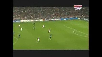 Аякс Амстердам - Реал Мадрид 1:4 Роналдо и Бензема с голове красавци