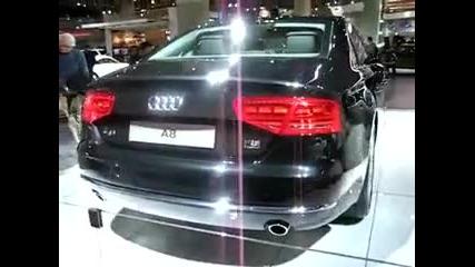 Audi A8 2011 at Toronto Auto Show