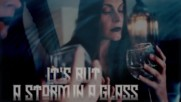 Northward - Storm In A Glass (official Lyric video) Floor Jansen & Jorn Lofstad