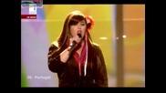Eurovision 2009 Финал 06 Португалия