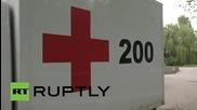 Вдигат телата на петима загинали украински войници в Донецк