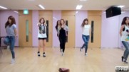 Apink - Mr. Chu dance practice