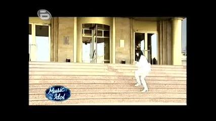 Music Idol 3 - Сега Ще Видиш Фадрома, Облечена В Бяло