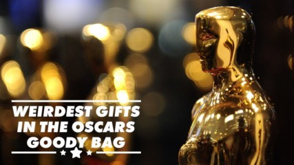 And the winner for most bizarre Oscar goody bag item is...