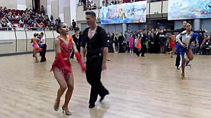 Спортни танци - Купа България, Русе 2019/12