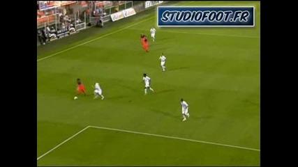Лига 1 - Оксер 0:3 Лион - трети гол