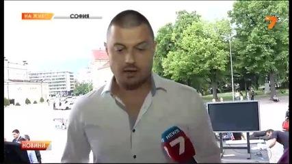 Кандидат-депутат от Герб хвърли чаша по Николай Бареков