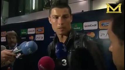 Роналдо иска да стане ''шафиор'' [смях]